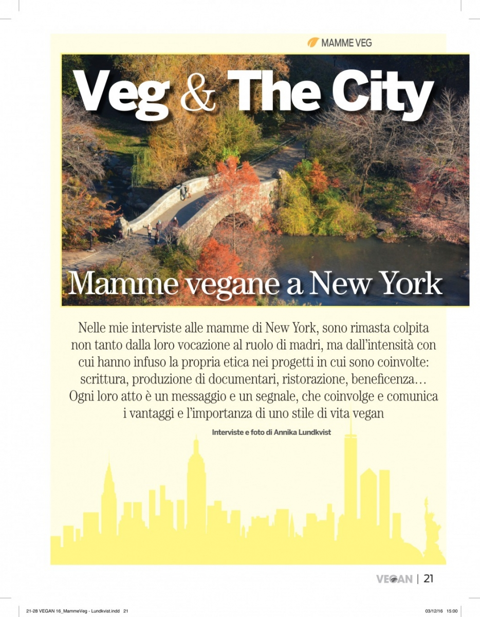 Veg and the City